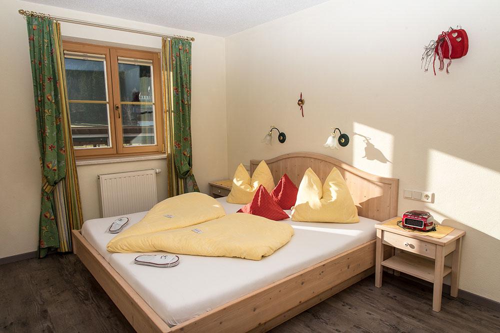 Ferienwohnung Urlaubsfreude - Schlafzimmer